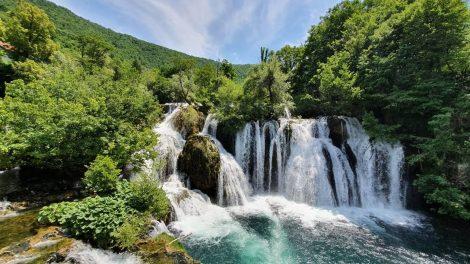 Milančev buk - Veliki buk - Martin Brod - Nacionalni park Una